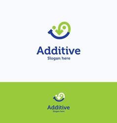 Additive logo vector