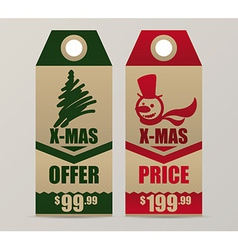 christmas sale design vector image