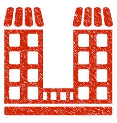 Company grunge icon vector