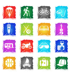 Lifestyle icon set vector