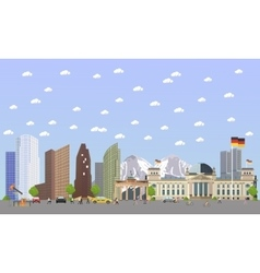 Travel to Germany concept vector image