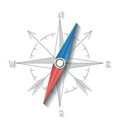 Compass conceptual sign vector image