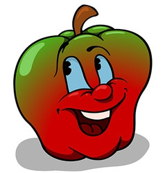 Apple With Big Smile vector image