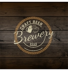Brewery badges logos and labels for any use vector