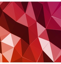 Abstract geometric red triangle background vector image vector image