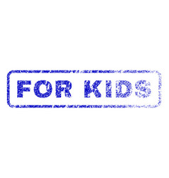 For kids rubber stamp vector
