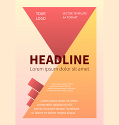 layout business design template banner poster vector image