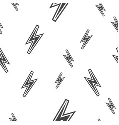 thunder seamless pattern vector image