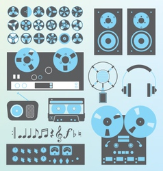 Retro recording vector