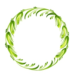 Decorative branch of pussy willow vector