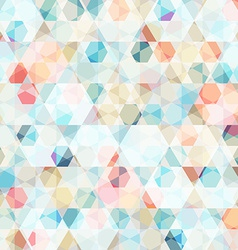 Cell diamond seamless pattern vector