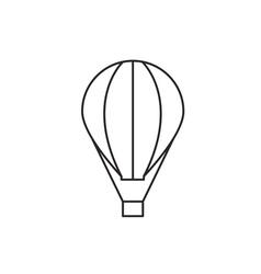 Balloon icon outline vector image vector image