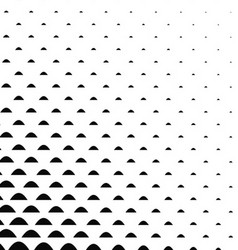 Black and white curved shape pattern vector