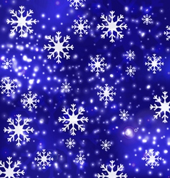 blue luxury christmas background 1 vector image