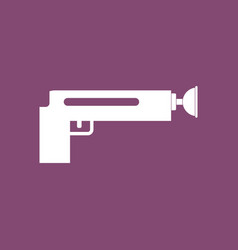 Icon kids gun vector