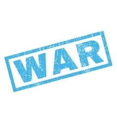 War Rubber Stamp vector image vector image