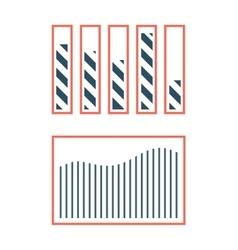 progress loading bar symbol template vector image