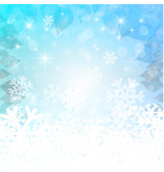 abstract winter background christmas empty vector image vector image
