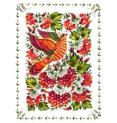 beautiful birds vector image