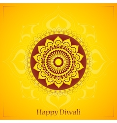 Diwali greeting card design vector