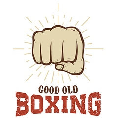 Good old boxing vector
