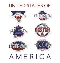 America emblem vector