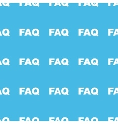 Faq straight pattern vector