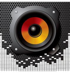 Speaker sound vector