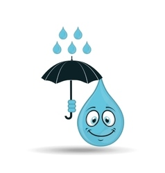Water character design vector