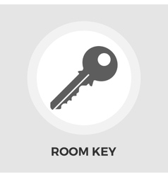 Room key line icon vector