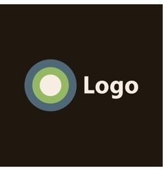 Logo flat style icon of high quality sign vector image