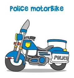 Police motor vector