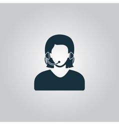 women customer support vector image vector image