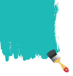 brush back vector image