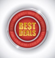 Best deal design vector
