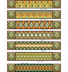 celtic designs vector image vector image