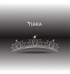 Decorative tiara set 2 vector