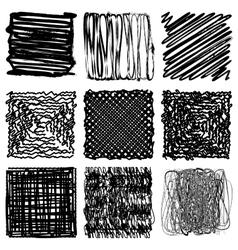 Distress Frame Set vector image vector image