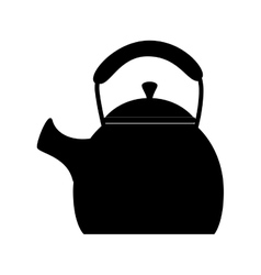 Kettle pod warm icon vector