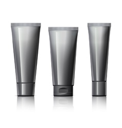 Set of cosmetic products vector