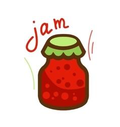 Tasty jam 1 vector