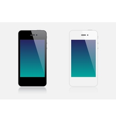 Realistic smartphones vector