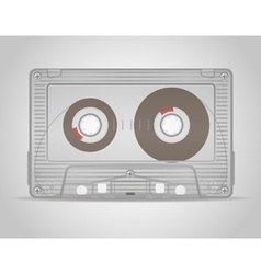 Audio cassette 01 vector