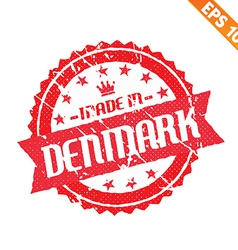 Rubber stamp made in the country - - EPS10 vector image