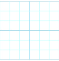 Blue grid white background vector