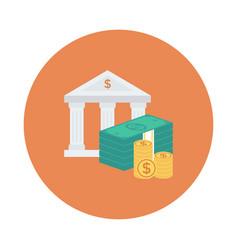 money bank vector image vector image