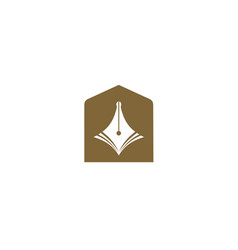 Simple design education symbol vector