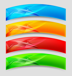 Web arc panels form an abstract background vector