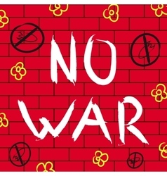 No war background vector