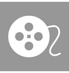 Film circular icon vector